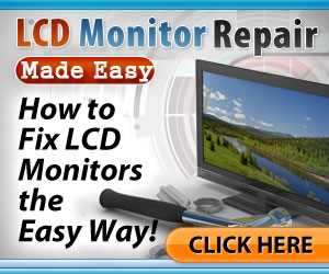 LCD Monitor Repair Made Easy